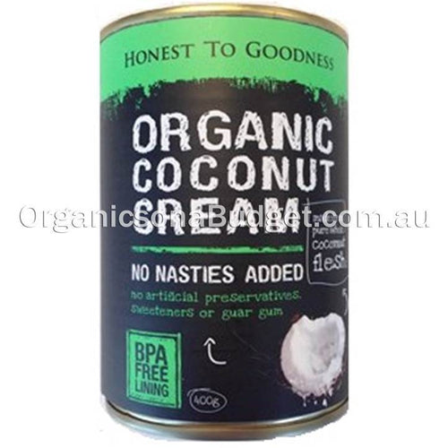 Honest To Goodness Organic Coconut Cream 400g