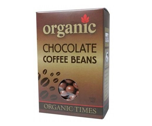 Organic Times Milk Chocolate & Coffee Beans 150g