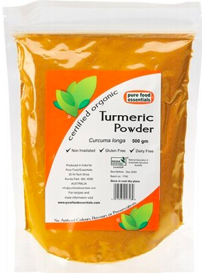 Pure Foods Essentials Spices - Turmeric Powder 500g