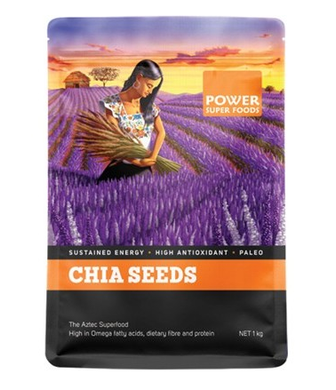 Power Super Foods Chia Power Black & White Seeds 1kg 40% OFF