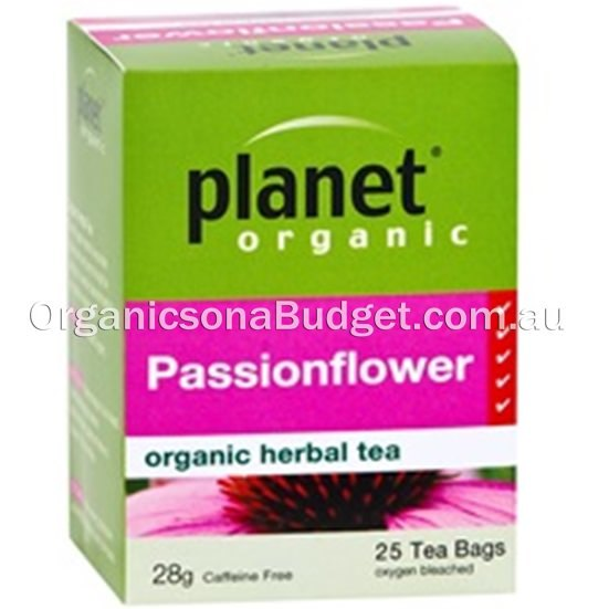 Planet Organic Passionflower Tea 25 bags/28g