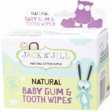 Jack N' Jill Baby Gum & Tooth Wipes x25