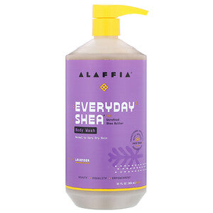 Alaffia Everyday Shea Lavender Body Wash 950ml