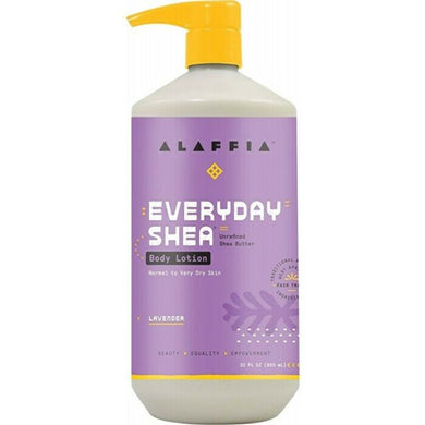 Alaffia Everyday Shea Lavender Body Lotion 950ml