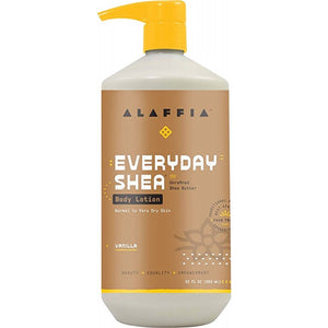 Alaffia Everyday Shea Vanilla Body Lotion 950ml