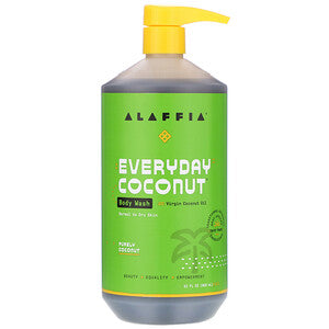 Alaffia Everyday Purely Coconut Body Wash 950ml