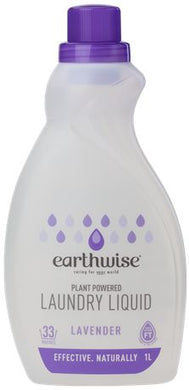 Earthwise Laundry Liquid Lavender 1L