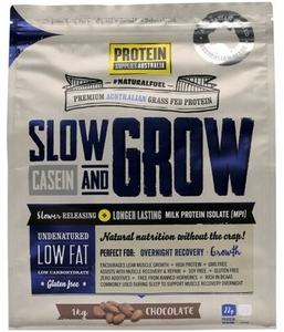 Protein Supplies Australia Slow & Grow (Slow Release) Chocolate - 1kg