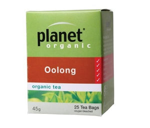 Planet Organic Oolong Tea 25 bags/45g