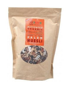2Die4 Live Foods Activated Organic Paleo Muesli Mix 600g