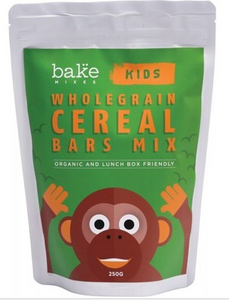 Bake Mixes Kids Wholegrain Cereal Bars Mix  250g