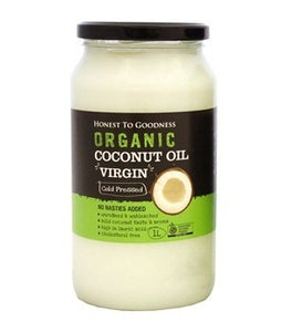 Honest To Goodness Organic Coconut Oil Virgin 1L