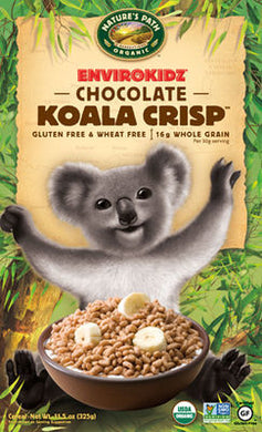 Nature`s Path Envirokidz Organic Chocolate Koala Crisp 325g