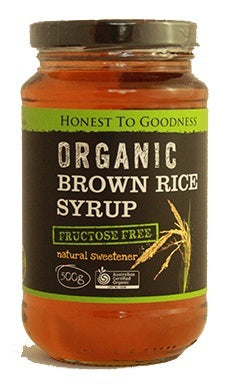 Honest To Goodness Organic Brown Rice Syrup 500g