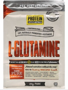 Protein Supplies Australia L-Glutamine 100% Pure Powder 200g
