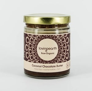 Loving Earth Raw Organic Chocolate Coconut Spread 175g