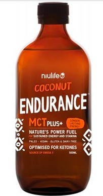 Niulife Coconut MCT Plus+ - Endurance 500ml