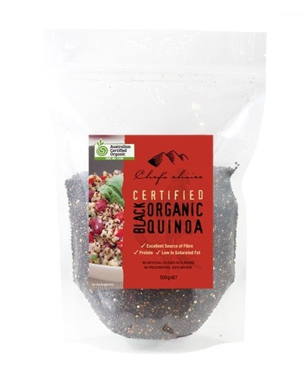 Chef's Choice Organic Black Quinoa 500g