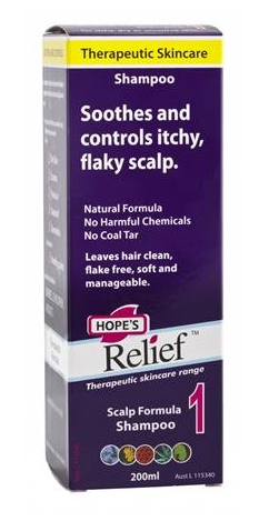 Hope's Relief Itchy Flaky Scalp Shampoo 200ml