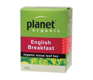 Planet Organic English Breakfast Loose Leaf Tea 125g