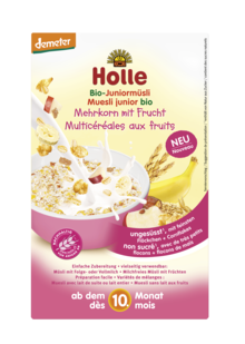Holle Organic Junior Muesli - Multigrain with Fruit 250g