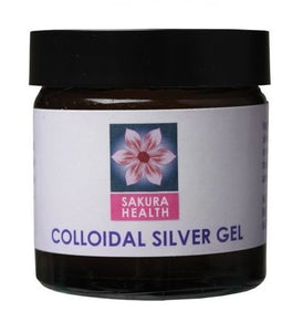 Sakura Health Colloidal Silver Gel 60ml