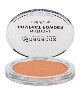 Benecos Natural Compact Powder - Beige 9g