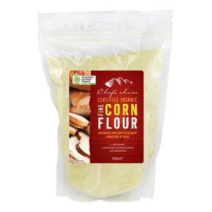 Chef's Choice Certified Organic Fine Corn Flour 500g