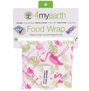 4MyEarth Food Wrap - Flamingoes - 30x30cm - 1