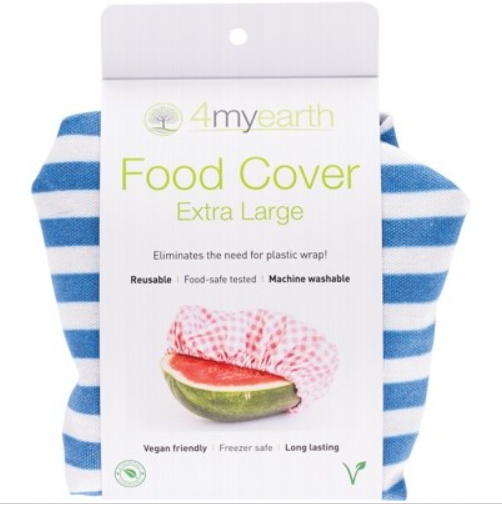 4MyEarth Food Cover - Denim Stripe - XL - 1