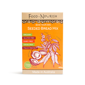 Food to Nourish Bread Mix Paleo Seeded 400g