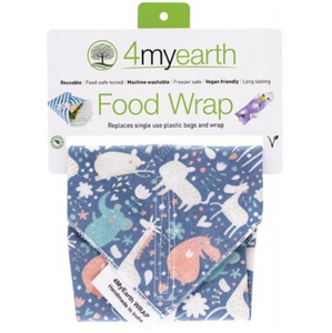 4MyEarth Food Wrap - Animals - 30x30cm - 1
