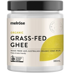 Melrose Grass Fed Ghee Organic 380ml