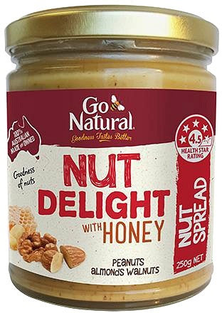 Go Natural Spread Nut Delight 250g