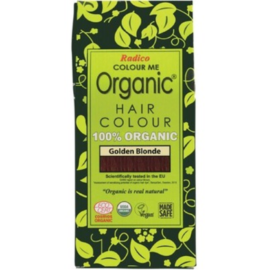 Radico Colour Me Organic - Hair Colour Powder - Golden Blonde 100g