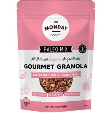 Monday Food Co. Paleo Granola Hazelnut, Fig & Cardamon