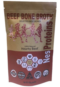 Nes Proteins Grass Fed Hearty Beef Bone Broth 100g