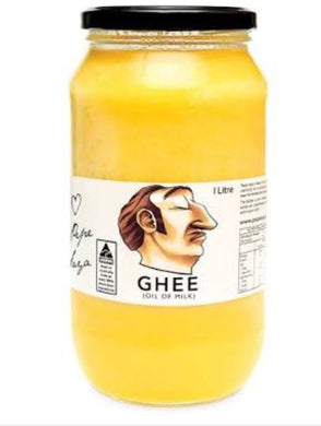 Pepe Saya Organic Cultured Ghee (Grass Fed Jersey) 1kg