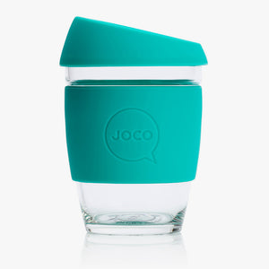 Joco Reusable Glass Cup Regular 12 oz -354ml - Assorted Colours Available