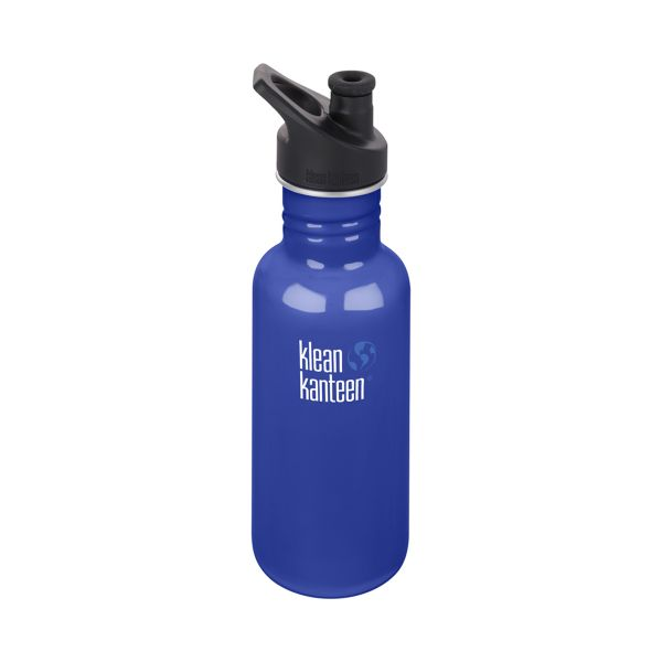 Klean Kanteen Bottle Stainless Steel Sports Cap - 532ml