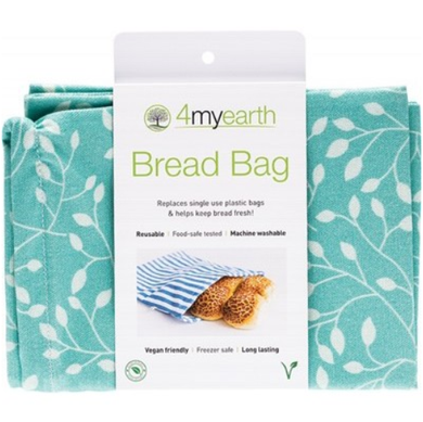 4MyEarth Bread Bag Leaf - 30x40cm - 1