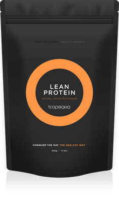Tropeaka Lean Protein Natural Chocolate Flavour 500g