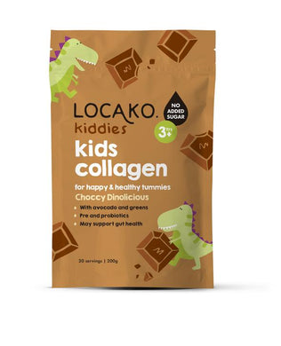 Locako Kiddies Kids Collagen Choccy Dinolicious 200g