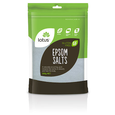 Lotus Epsom Salt 500g