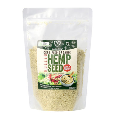 Lovin' Body Organic Hulled Hemp Seed 350g