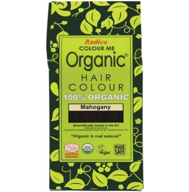 Radico Colour Me Organic - Hair Colour Powder - Mahogany 100g