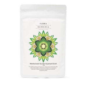 Flora Remedia Body Scrub Matcha Green Tea 150g