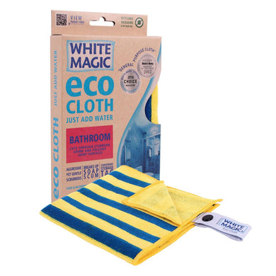White Magic Eco MicroFibre Bathroom 1Pk