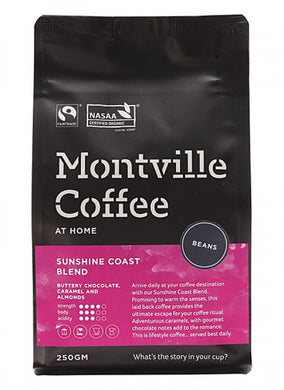 Montville Coffee Sunshine Coast Blend Beans