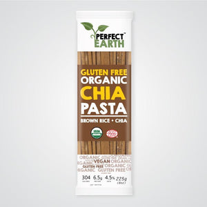 Perfect Earth Organic Rice and Chia Pasta - Brown 225g